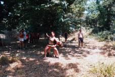 Bailando en el bosque
