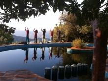 yoga piscina